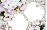 Crystal Wedding Frame