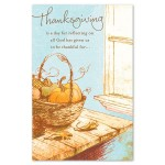Pastor Thanksgiving Day Cards - Pray for Pastor