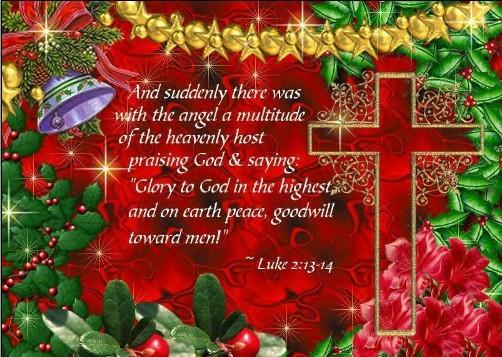 Christian christmas blessings