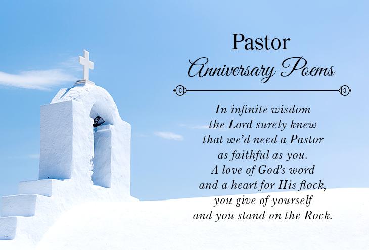 Pastor Anniversary Poems   Pastor-Gifts.com
