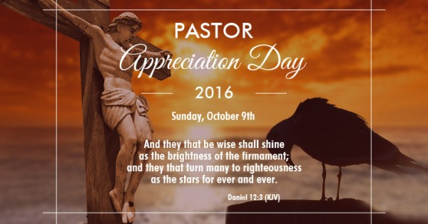 pastor appreciation day  month