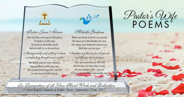 Pastor's Wife Poems | Pastor-Gifts.com