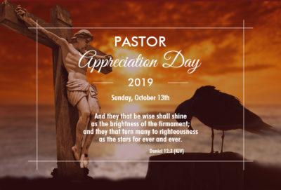 Pastor Appreciation Day 2019